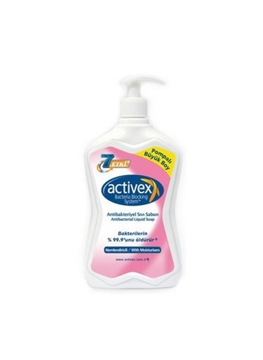 Activex Activex Antibakteriyel Sıvı Sabun Nemlendirici 700 ml Renksiz